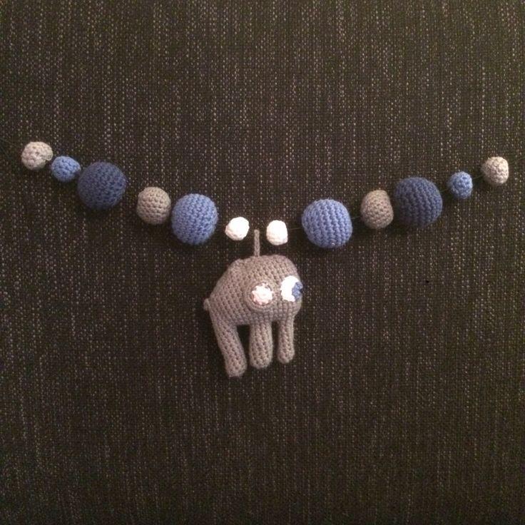 Vognlenke med elefant