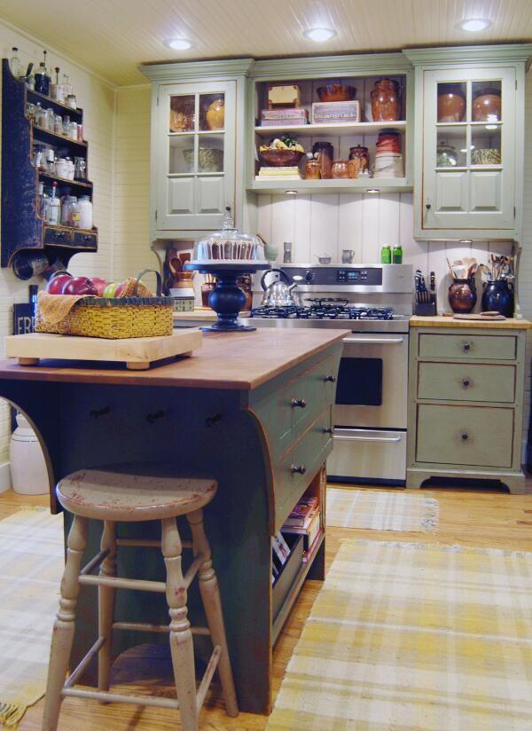 498 best primitive kitchen images on Pinterest | Prim decor, Cottage Sall Primitive Wood Kitchen Countertops Ideas on