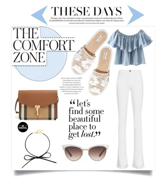 #comfortinmyway by nka12 on Polyvore featuring polyvore, fashion, style, Chicnova Fashion, Frame, Balenciaga, Burberry, BaubleBar, Gucci and clothing