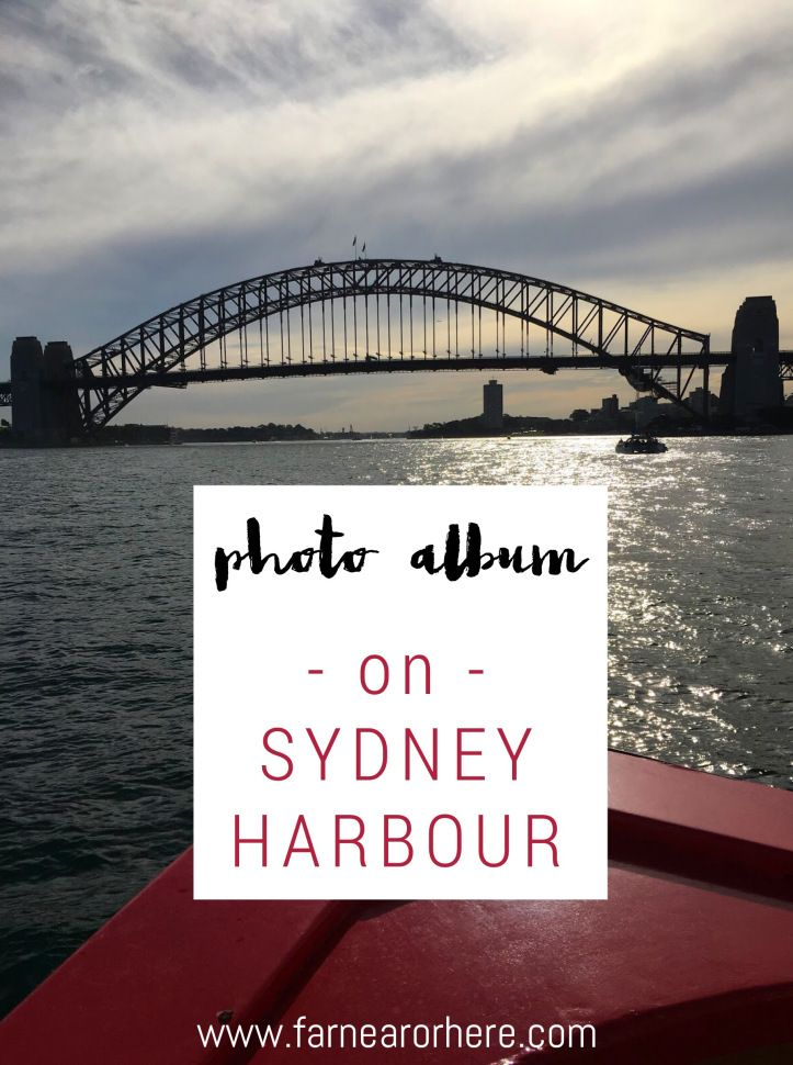 Photo album from a day exploring Sydney Harbour by ferry...