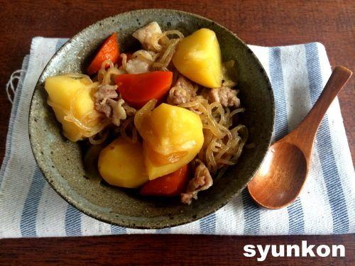 【簡単!!!超おすすめです】レンジで一発*タッパー1つで美味しい肉じゃが |山本ゆりオフィシャルブログ「含み笑いのカフェごはん『syunkon』」Powered by Ameba