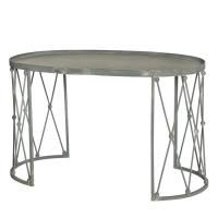 Palm House Coffee Table In Weathered Zinc Design By Aidan Gray