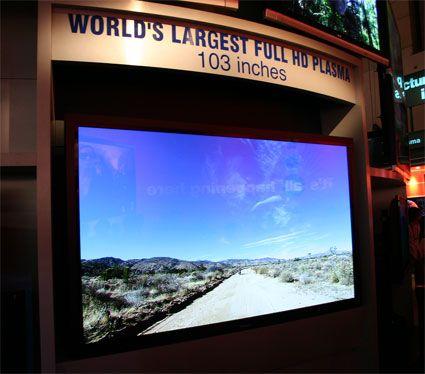 Big screen plasma big flat screen tv lcd plasma tv for Best tv for a bedroom