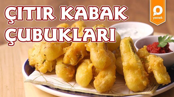 Çıtır Kabak Çubukları Tarifi - Onedio Yemek- Pratik Yemek Tarifleri