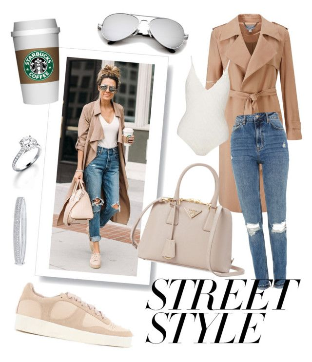 Street Style by jessann-harrold on Polyvore featuring polyvore fashion style Pure Collection Topshop Miss Selfridge Senso Prada Garrard clothing contestentry nyfwstreetstyle