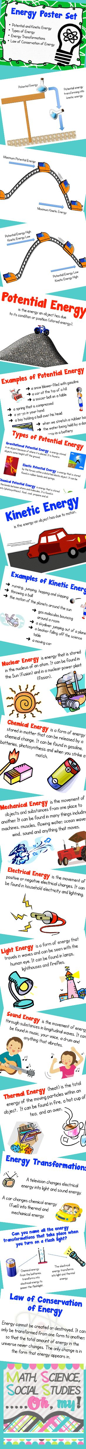 Best 43 Stem: Potential And Kinetic Energy Images On Pinterest  Education