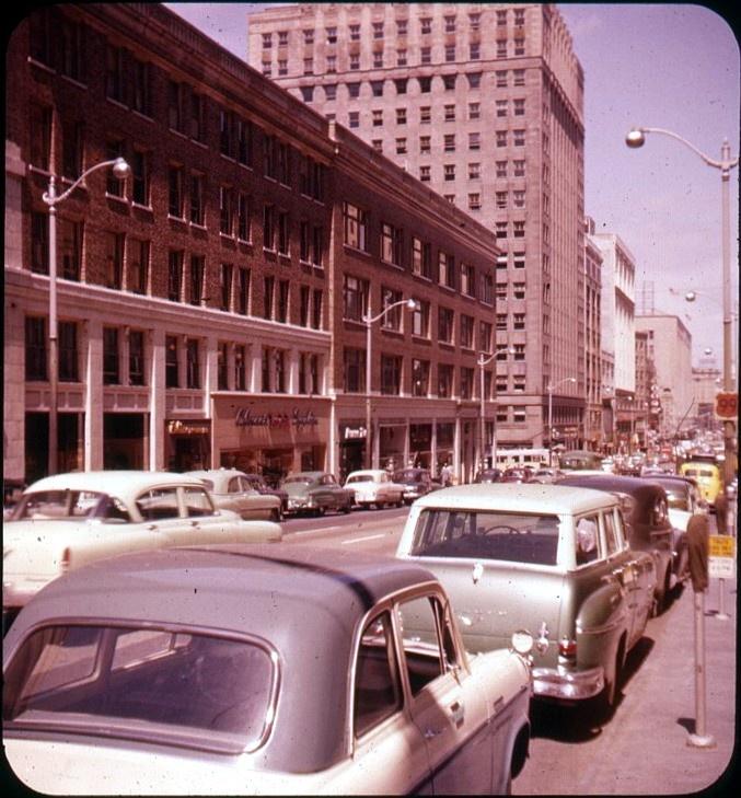 4th Avenue, Seattle, Late 1950s, Bruce Thomas