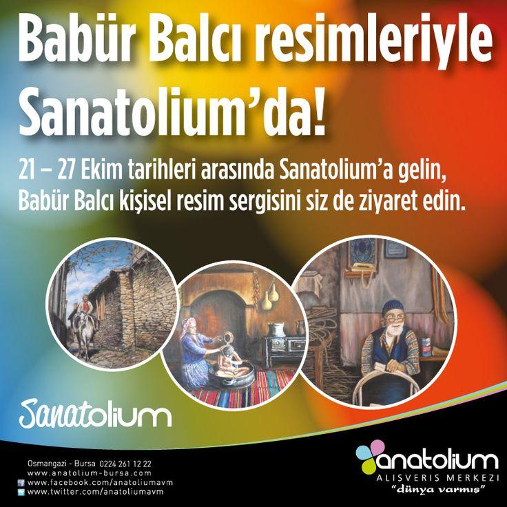 Babür Balcı fotoğraf sergisi Anatolium'da..
