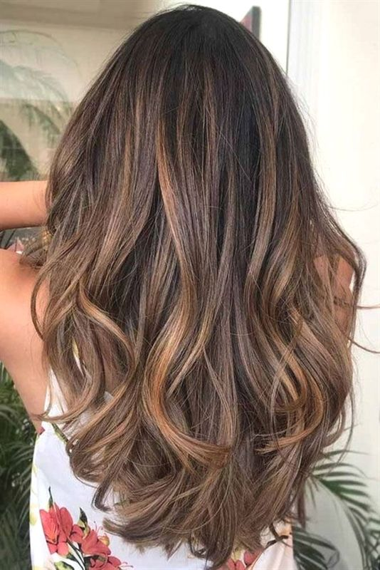 Haarfarben Ideen Und Trends Fur Die Lange Frisur Winter 2018 2019 Source By Soflymeweb Bob Frisure Long Hair Styles Hair Styles Brunette Hair With Highlights