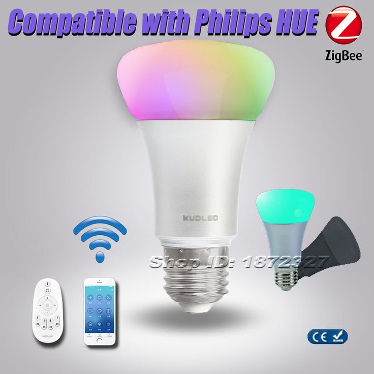 Cheap hue compatible bulb, Buy Quality bulb remote directly from China bulb smart Suppliers: Zigbee Light Link Colorful Light Bulb 9w Auto WirelessLed E27 Remote Control Bulb Smart Home KUDLED Intelligent B