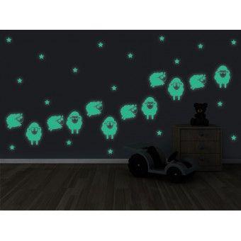 Sticker Fosforescent - Mielusei : Fosforescente - ★ Stickere Decorative ★ Stickere.Net ✫ Autocolante decorative de perete ®