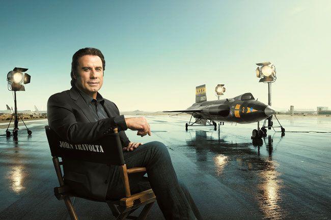 VIDEO: John Travolta goes sky high for Breitling http://bit.ly/1Hc6BK6