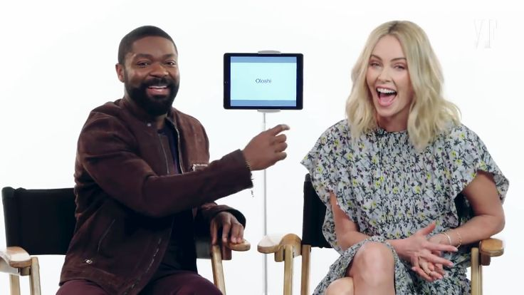 Charlize Theron and David Oyelowo Teach Slang Words From the Afrikaans and Yoruba Languages