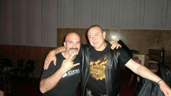 Umberto & Ghigo. Hard Rock cafè Firenze