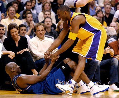 Kobe Bryant - Air Jordan 8 PE  Michael Jordan - Air Jordan 18