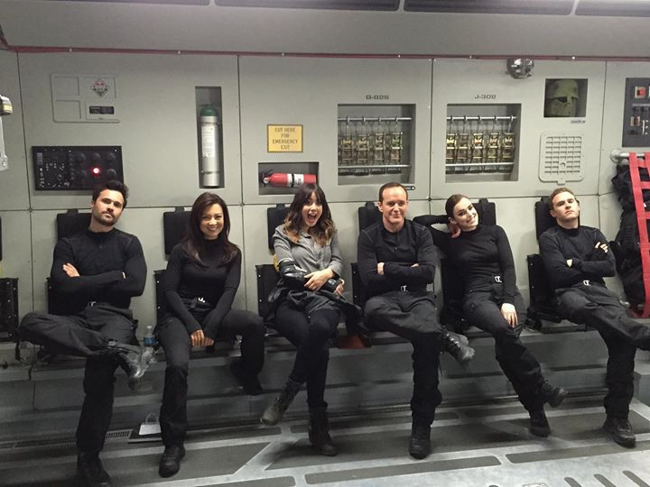 Marvel Agents of Shield #BTS #AgentsofSHIELD