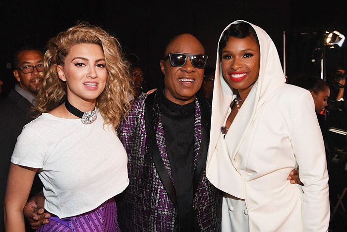 "The Prince tributes were numerous and strong at the BET Awards, first with Erykah Badu, Bilal, and The Roots and followed by Stevie Wonder with Tori Kelly, plus Jennifer Hudson. The former unlikely duo ran through an impassioned rendition of Prince and the Revolution's ""Take Me With U,"" a cut off of the Purple One's …"