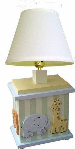 Safari Table Lamp | Jack and Jill Boutique