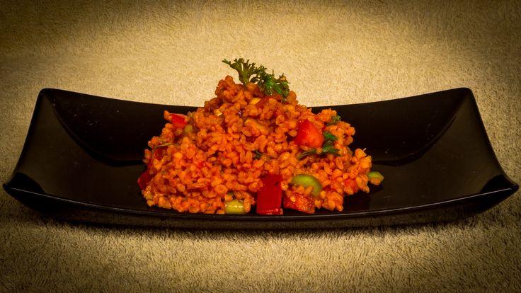 Kisir - bulgur saláta