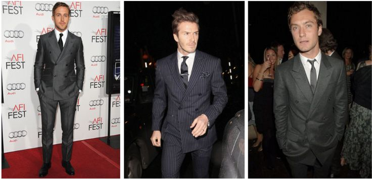 David Beckham Double Breasted Suit Dress Yy