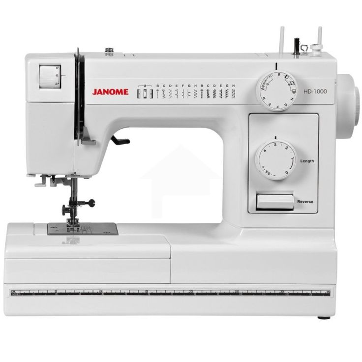 The Janome HD1000 Heavy-Duty Sewing Machine is a durable, sturdy machine. It is constructed with a heavy duty aluminum body and is designed to be dependable and enjoyable to use.  It includes 14 stitches and a four step buttonhole and even... Read More