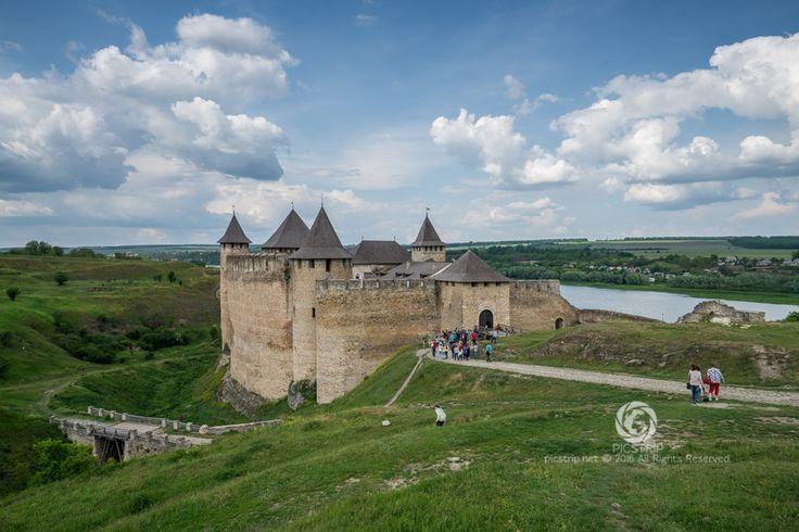 Hotim Castle, Ukraine #zamek #castle #ukraine #ukraine #kalesi #hotin #chocim #ukrajina #trip #travel #picstrip