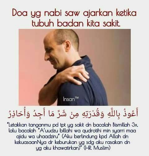 Doa Ketika Tubuh Badan Sakit
