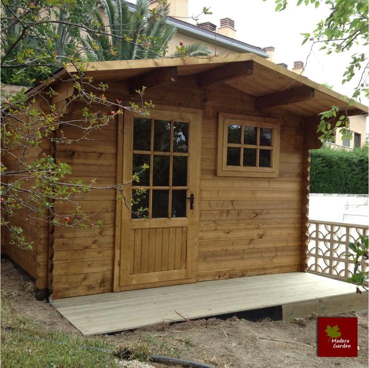 1000 images about casetas de madera on pinterest diy - Casetas madera aki ...