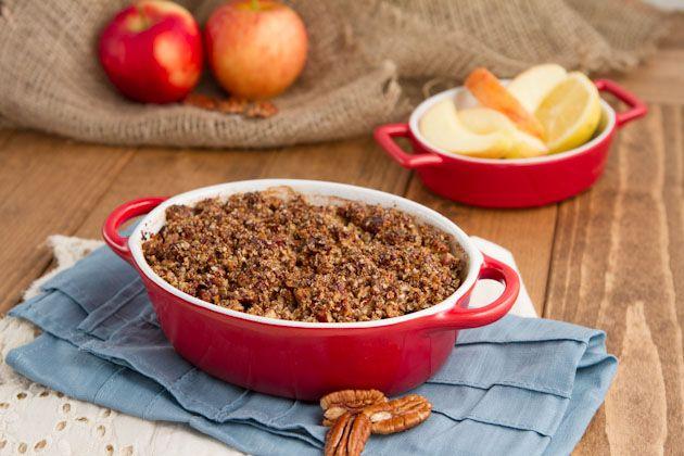 Apple Pie Quinoa Breakfast Casserole + Blogiversary GiveawayHealthful Pursuit | Healthful Pursuit