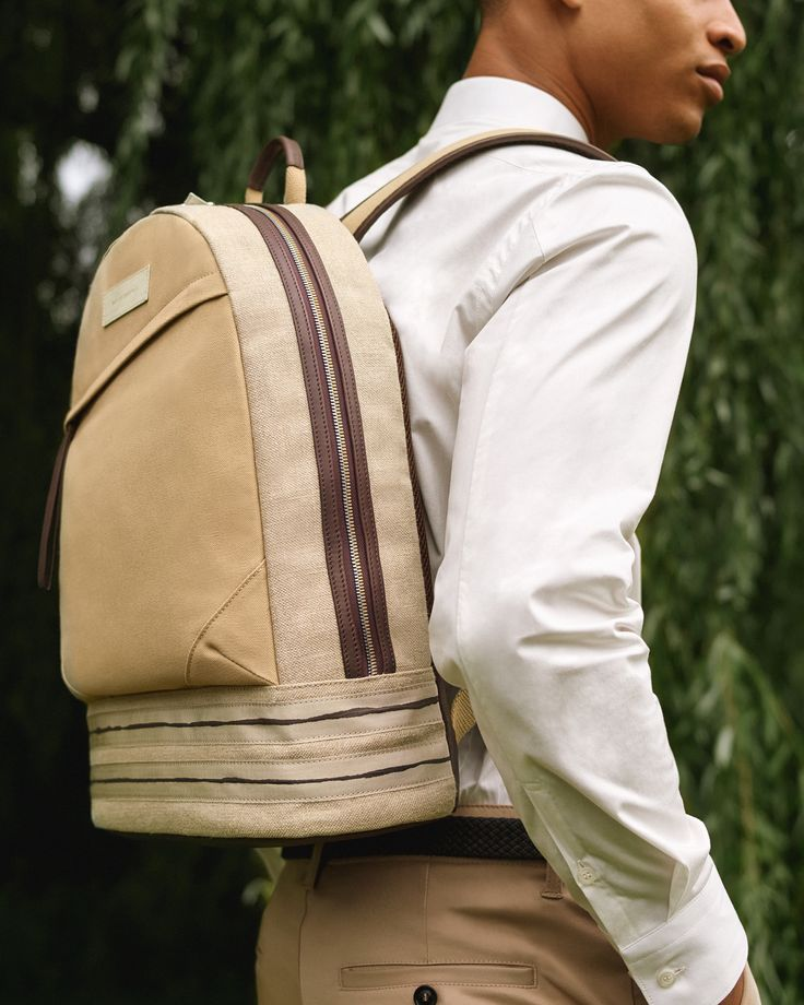 Kastrup Backpack in Sand/Mahogany