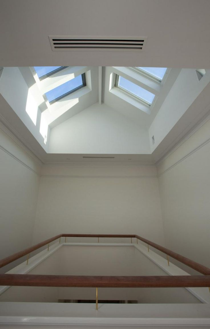 Let there be light. Modern take on skylights to this Queen Anne restoration in Peppermint Grove