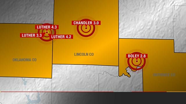 Five Earthquakes Rattle Oklahoma Tuesday Morning - News9.com - Oklahoma City, OK **We just thought we'd toss in some earthquakes during tornado season!!** There's been more than 50 since this morning!!