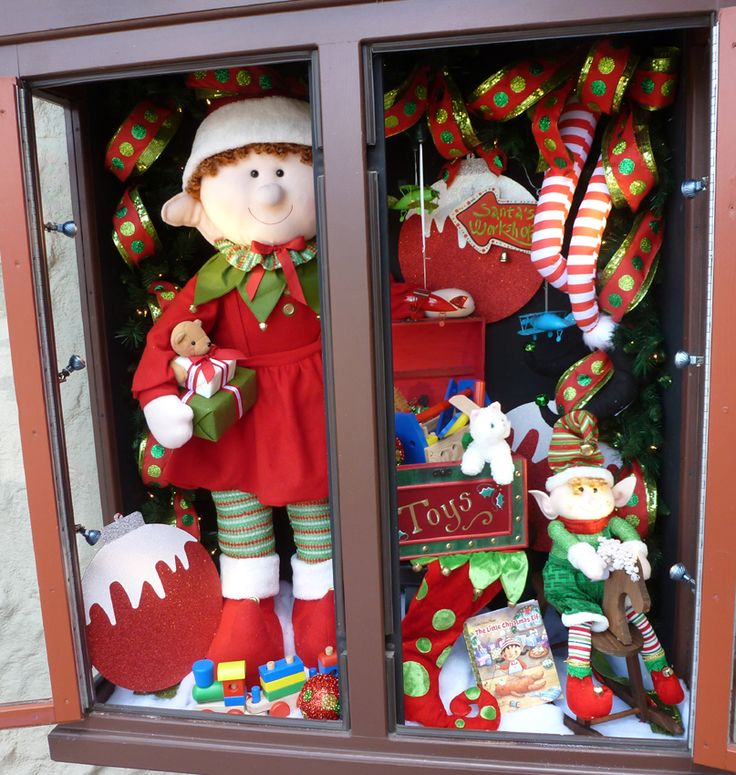 263 Best I Love Christmas ( WINDOW DISPLAYS ) Images On