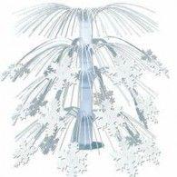 Centrepiece Cascade Snowflake $12.95  BE20550
