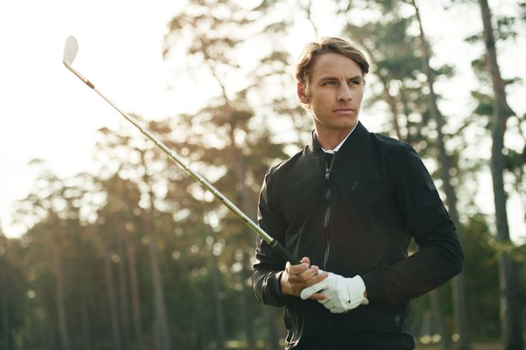 Golf Octon Jacket, Joakim Lagergren.  #golf #active #swing #green #golfcourse