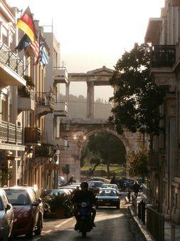 Hadrian's Arch, Athens. Visit www.athenskey.com