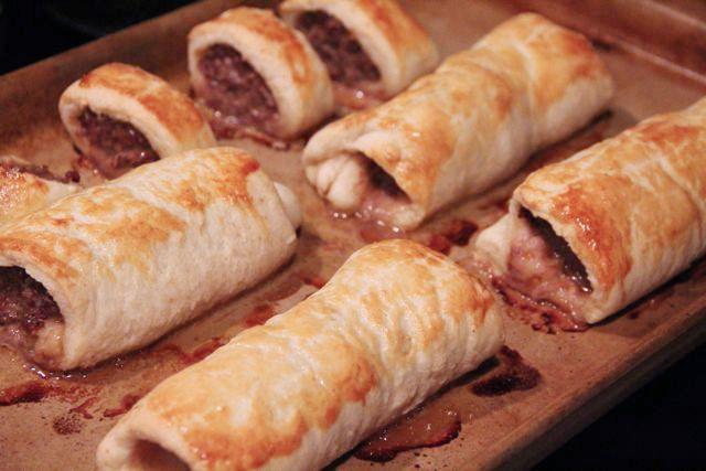 OMG Sausage Rolls.