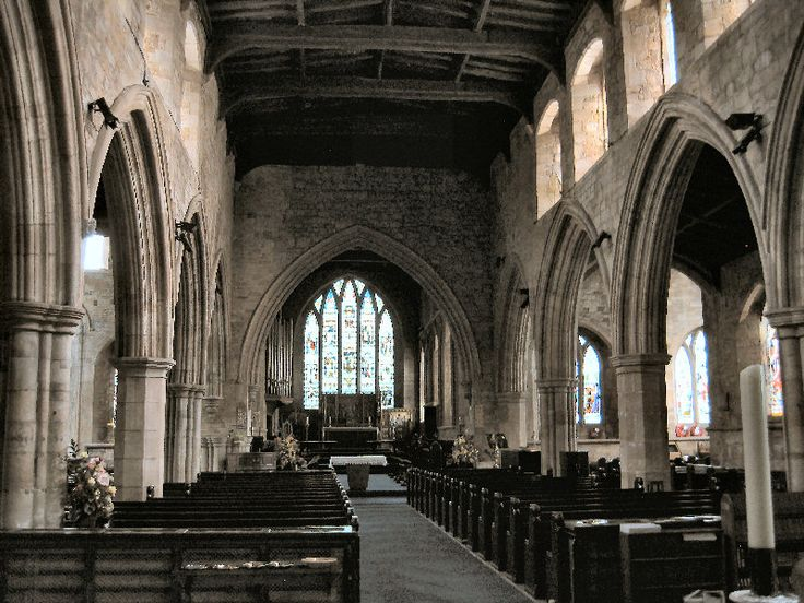 Bishop Auckland St Andrews Church (Norman) Interior