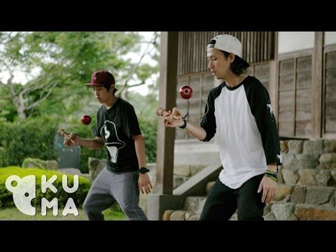 Kendama tricks by kuma-filmed in Japan