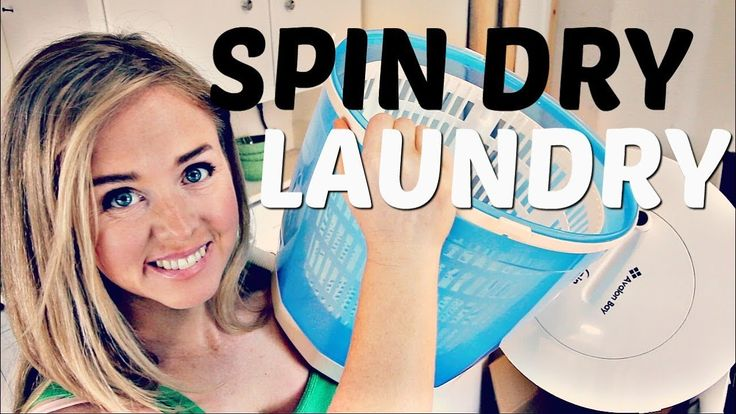 Off Grid or Apartment Laundry Spin Dryer (Avalon Bay EcoSpin Review)