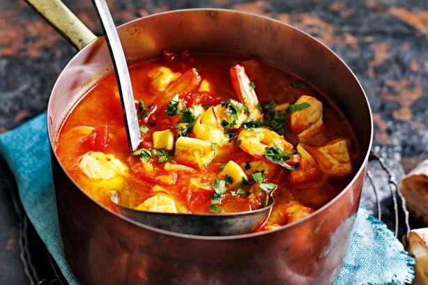 Sopa De Mariscos (spanish Seafood Soup) Recipe - Taste.com.au