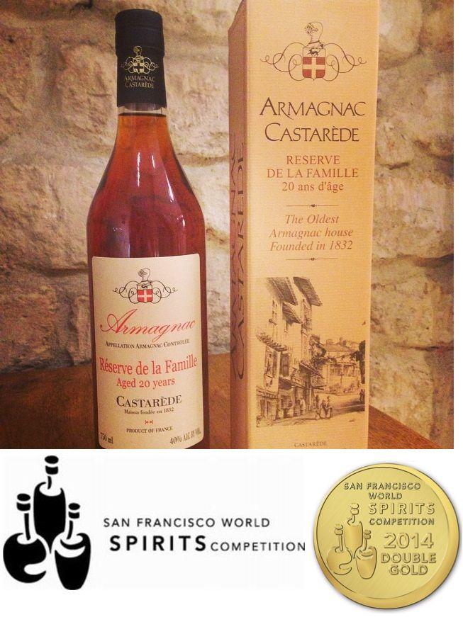 Les Médailles d'Armagnac Castarède - Armagnac Castarede