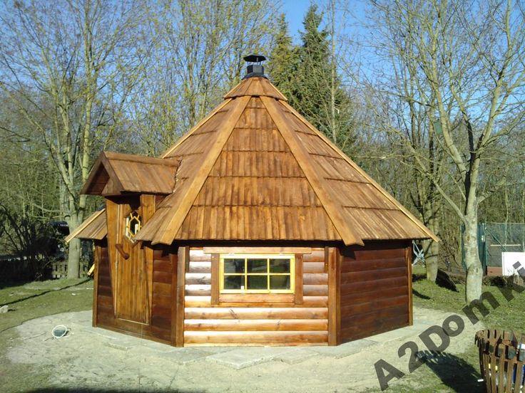 Domek Ogrodowy 17m2 na 21osób - grillowy lub sauna