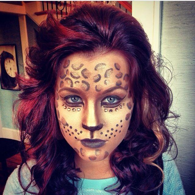 halloween make up cheetah - Halloween Effects Makeup