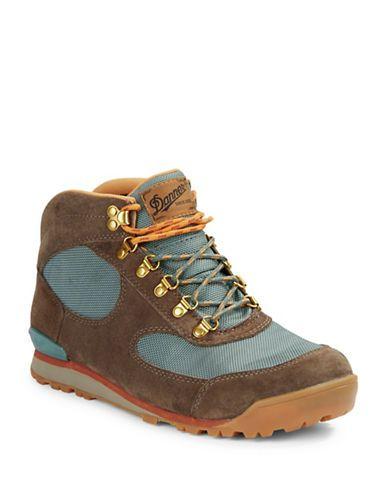 <ul><li>Lace-up mid-height hikers with waterproofing</li><li>Leather and textile upper</li><li>Round toe</li><li>Lace-up closure</li><li>Textile lining</li><li>Ortholite footbed</li><li>Rubber sole</li><li>Imported</li><li>Includes: two pairs of shoelaces</li></ul>