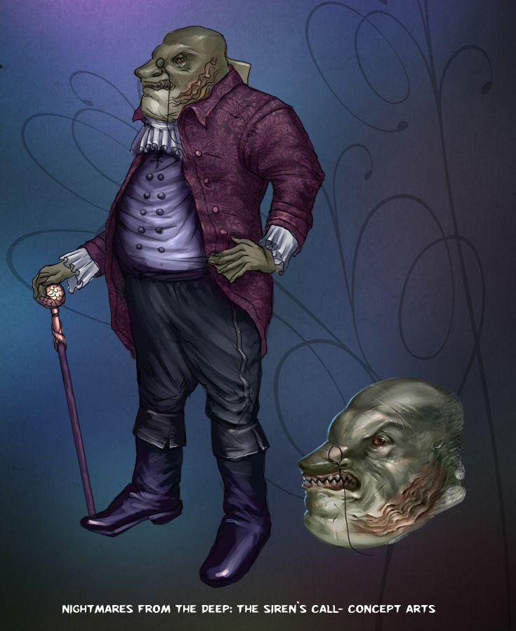 Kingsmouth Mayor in person! #nightmares #kraken #artifexmundi  www.facebook.com/NightmaresFromTheDeep    http://www.artifexmundi.com/page/piraci2