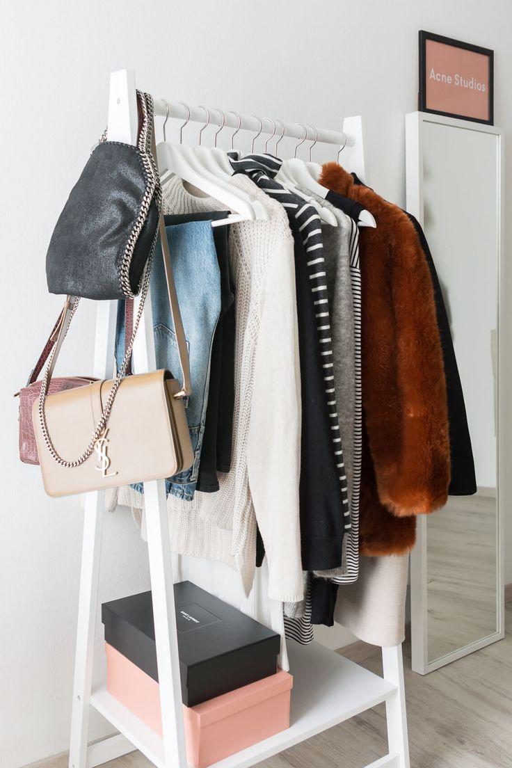 die besten 25 diy kleiderstange ideen auf pinterest. Black Bedroom Furniture Sets. Home Design Ideas