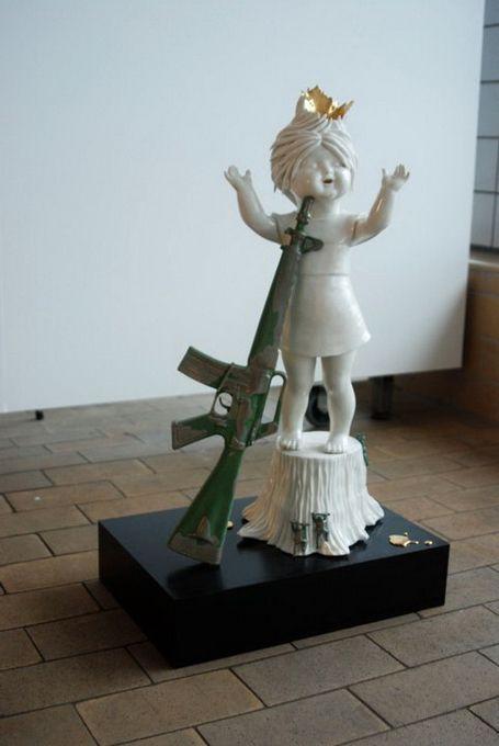 Best Amazing Images On Pinterest - Amazingly disturbing porcelain figurines by maria rubinke