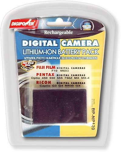 DigiPower - Lithium-Ion Battery Pack for Fuji FinePix