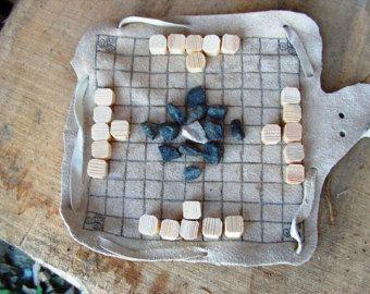 Wikinger Brettspiel - weiße hnefatafl